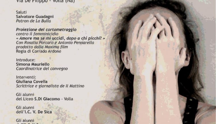 VOLLA – Il 25 Novembre, presso la Bulla eventi, un convegno sulla violenza contro le donne