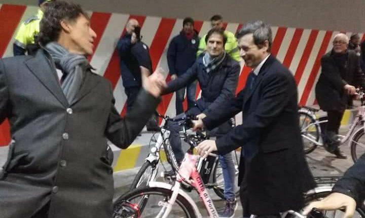 PORTICI IN BICICLETTA – Il ministro Orlando nella città del Granatelloi: parte il nuovo servizio di bike sharing comunale
