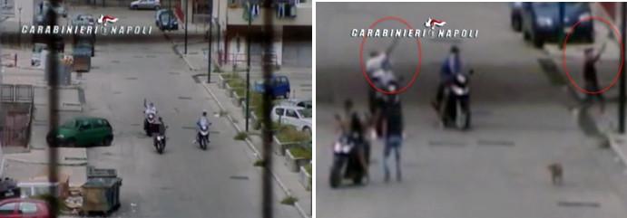 LA CAMORRA A PONTICELLI –Un'altra stesa nella notte, colpi di pistola esplosi da gang di motorini