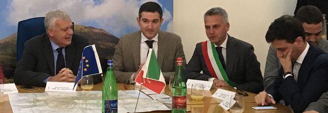 Un patto per il recupero del Vesuvio: il ministro Gian Luca Galletti firma l'intesa con il Parco