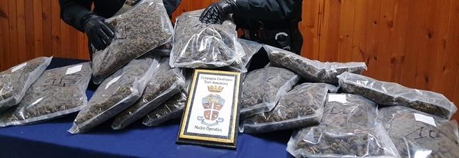 Quindici chili di marijuana nascosti in macchina: arrestato