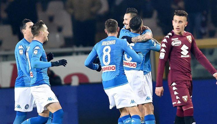 Calcio: Napoli corsaro e nuovamente capolista con le reti di Koulibaly, Zielinski e Hamsik che eguaglia Maradona