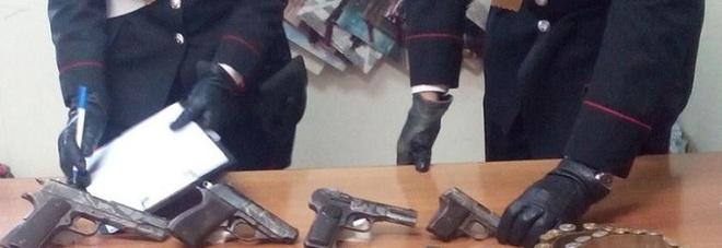 TERRITORI SICURI – I Carabinieri arrestano Pasquale Villani; aveva in casa un arsenale