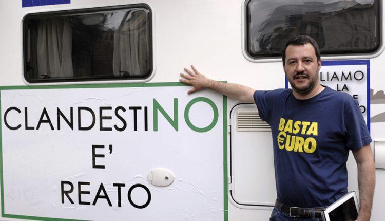 Parte da Castel Volturno il tour di Matteo Salvini. Altre date annunciate in Campania