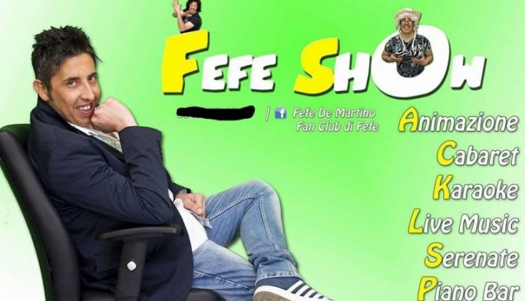 Choc nel Vesuviano, lo showman napoletano Felice De Martino, in arte Fefè muore durante il suo spettacolo