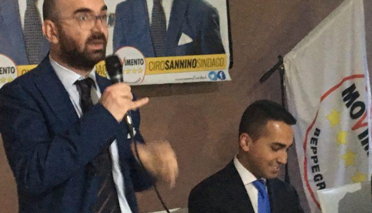Somma Vesuviana – Ciro Sannino candidato alle Parlamentarie 2018 coi 5 Stelle