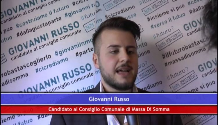 SCOSSE POLITICHE – Giovanni Russo lascia la maggioranza di governo a Massa di Somma targata Madonna-Zeno