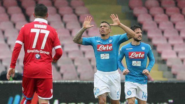 Il Napoli alla nona vittoria di fila, è record