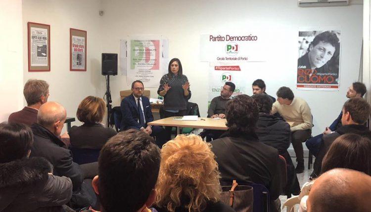 VERSO IL VOTO DI MARZO – Spaccature nel centro sinistra porticese: la candidatura di Borrelli che andò contro Cuomo non piace ai fedelissimi del sindaco ex senatore
