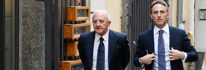 """FRITTURE IN FAMIGLIA – Lo sfogo del Governatore Vincenzo De Luca: """"Su mio figlio candidato speculazioni politiche di bassa lega"""". Era solo una domanda giornalistica"""
