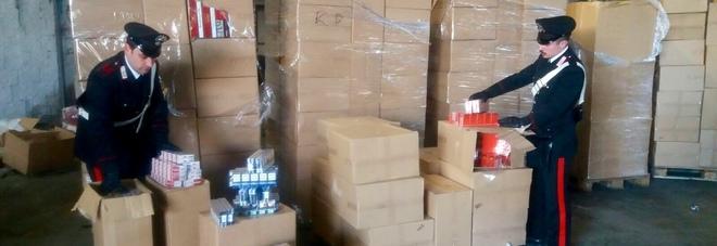 TORNANO LE BIONDE – I carabinieri a Ercolano sequestrano 8 tonnellate di sigarette e arrestano Patrizia Lavino