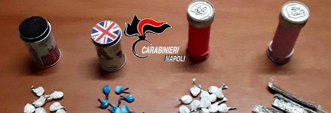 IL BLITZ ALLA CISTERNINA – I carabinieri scoprono la droga nelle bolle di sapone
