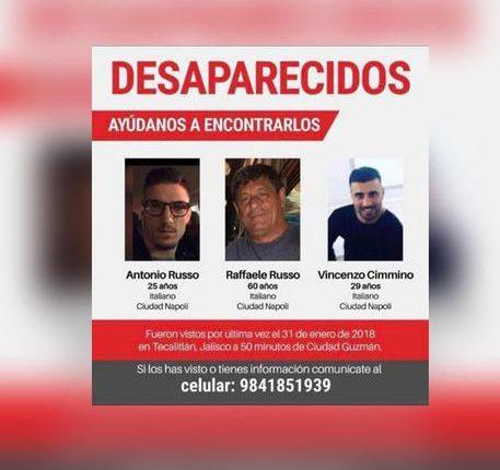 Scompaiono a Città del Messico tre napoletani: indaga la Farnesina