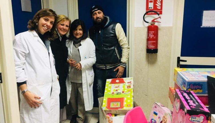 GIOCATTOLI E SOLIDARIETA' – A Volla l'iniziativa de La Grande Mela per i bambini ricoverati al Santobono