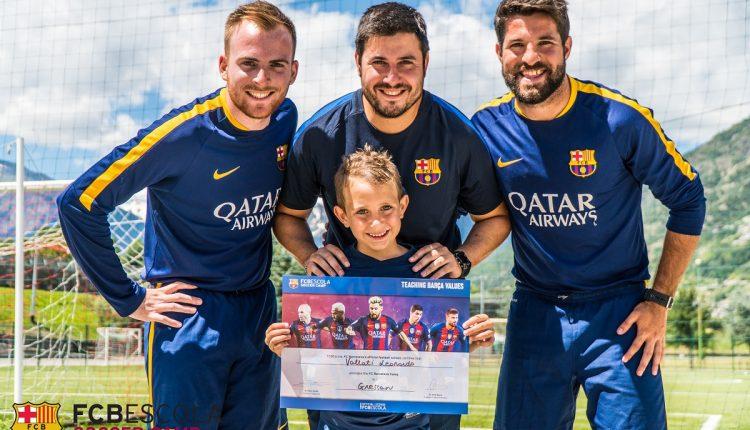 I Football Camps ufficiali del FC Barcelona arrivano per la prima volta a Napoli nell'estate 2018: protagonista la Mi.Cri di Volla
