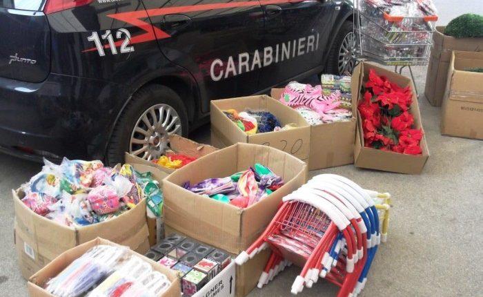 Scoperta dai carabinieri di Ercolano la grande truffa dei giocattoli: sequestrato carico di ditta fantasma con sede a Portici