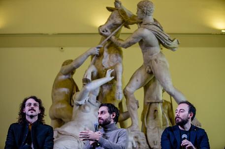 The Jackal firmano la campagna social al Museo Mann, ilDirettore Giulierini presenta video con Fru 'esperto di cose'
