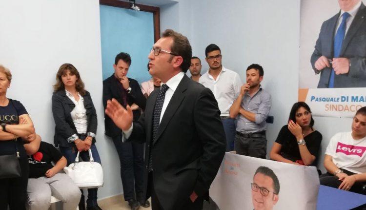 """""""LEGALITA' IN AZIONE"""" E' LO SLOGAN PRESENTATO DA PASQUALE DI MARZO ALL'APERTURA DEL COMITATO ELETTORALE PER LE ELEZIONI A VOLLA"""