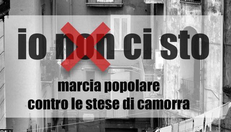 IO NON CI STO – A San Giovanni una marcia contro le stese di camorra