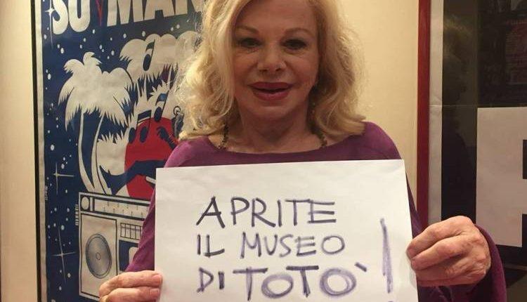 A la radiazza su RadioMarte Sandra Milo lancia un appello per il Museo di Totò