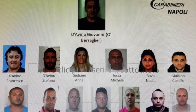 La polizia arresta alla Riviera di Chiaia il boss di Somma Vesuviana Ferdinando D'Avino. Sfuggito al blitz aveva esibito documenti falsi, con lui Antonio Schetter