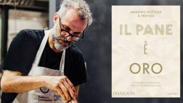 """Al Maschio Angioino, Maurizio Cortese presenta """"Il Pane è Oro"""", l'ultimo libro di Massimo Bottura"""