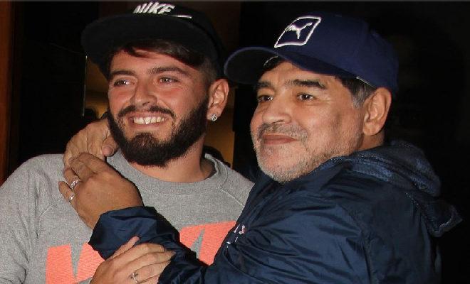 Maradona diventa nonno, è nato Diego Matias Maradona il figlio di Diego jr.