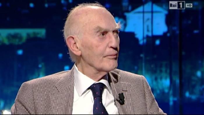 Il grande filosofo contemporaneo ALdo Masullo, cittadino onorario di Napoli