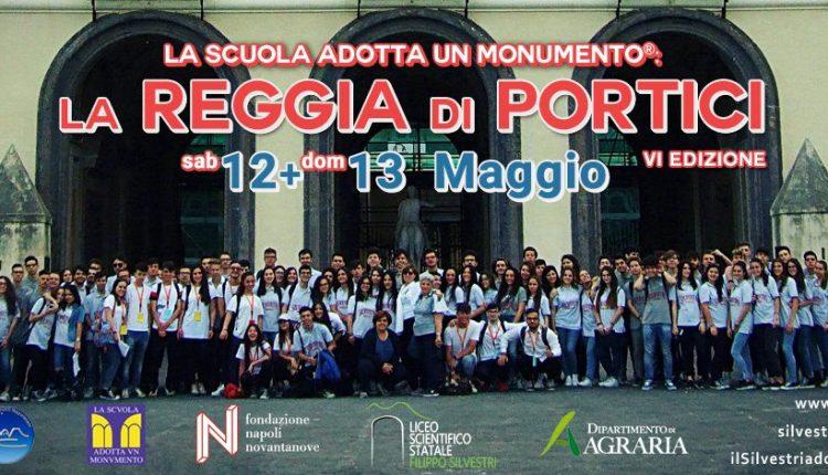 """La Scuola adotta un Monumento: i ragazzi del Liceo Silvestri di Portici adottano la Reggia. Due giorni di visite guidate all'interno di """"Tutta nata storia"""""""