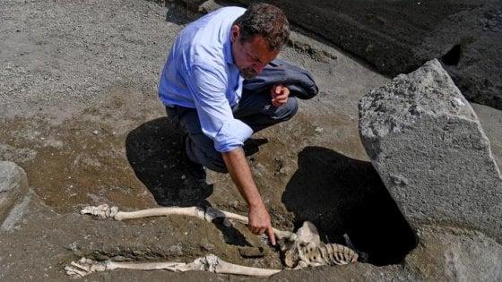 Eccezionale scoperta a Pompei: riemerge l'ultimo fuggiasco