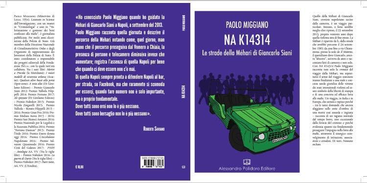 NA K14314, esce il libro e la giornalista Luciana Esposito devolve i diritti d'autore per una borsa alla Scuola di giornalismo di Napoli Università Suor Orsola Benincasa