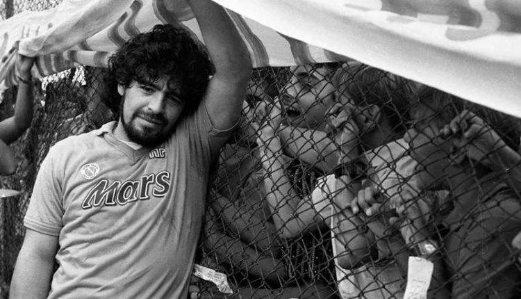 """Presentazione di """"Maradona"""" il libro fotografico si Sergio Siano ai Magazzini Fotografici"""