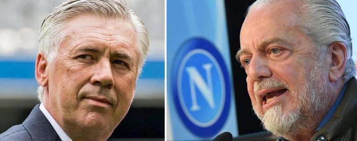 """Aurelio De Laurentiis, sprezzante: """"Ancelotti ha vinto ovunque,non dà impressione di usare squadra per andare da altre parti'"""