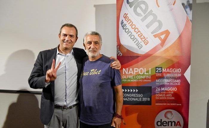 """Luigi de Magistris, con demA accanto a deboli:""""Noi alternativa al Governo più a destra della storia del Paese"""""""