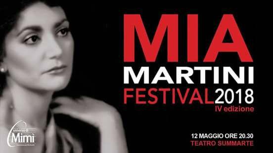 Giunge alla sua quarta edizione il Mia Martini Festival, l'evento organizzato dall'associazione non profit Universo di Mimì