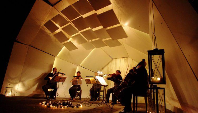 All'Orto Botanico della Reggia di Portici si inaugura ReS, resonant string shell