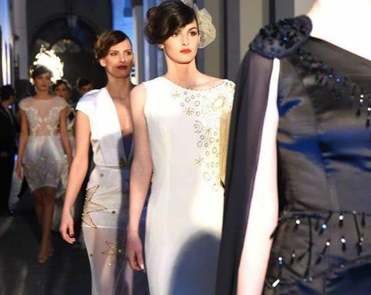 """""""Le mille e una notte"""", lo stilista Tufano presenta la nuova collezione al Castello D'Alagno ispirata a Lucreziafavorita di Alfonso V d'Aragona"""