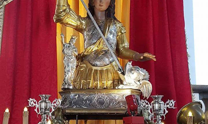 A San Giorgio a Cremano si festeggia la Festa della Lava.La città si prepara ad uno tra gli eventi più sentiti con la processione di San Giorgio Martire