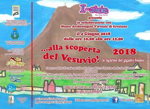 Alla scoperta del Vesuvio, arriva il primo album di figurine dedicato al gigante buono