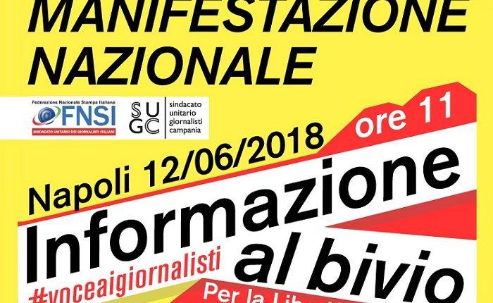 #VoceAiGiornalisti: a Napoli si parla di giornalismo, libertà e Costituzione