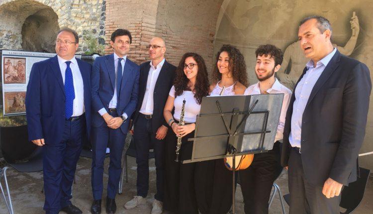 Successo di pubblico per la Giornata europea della Musica tra Scavi di Ercolano, Mav e Reggia di Portici
