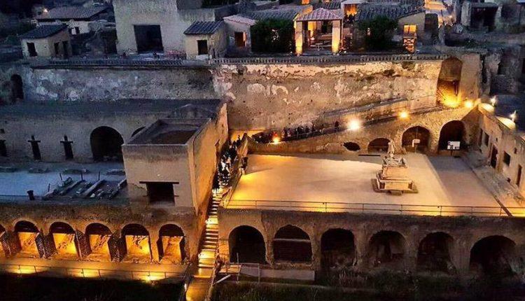 Herculaneum Experience, percorsi serali:dal 14 luglio tutti i venerdì e sabato fino a settembre