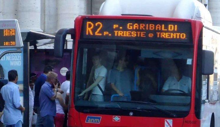 A Napoli post di scuse per ladri su bus R2