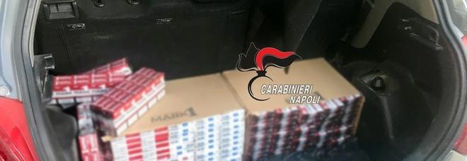 Guerra a contrabbando, 7 arresti deiCarabinieri:aSarno 332 mila pacchetti sigarette,altro blitz nelvesuviano