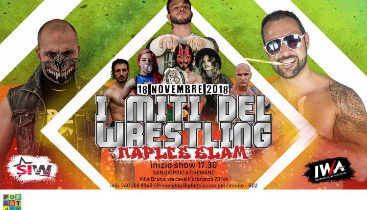 Il grande wrestling torna a San Giorgio a Cremano. Il prossimo 18 novembre, alla Fonderia Righetti di Villa Bruno