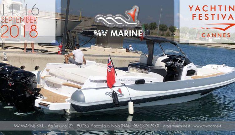 CANTIERE NAUTICO MV MARINE DA CANNES AL GENOVA BOAT SHOW CON LA LINEA MITO E GRAN TURISMO