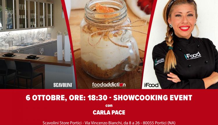 Un dolce assaggio d'autunno a Portici –Cucinare in un barattolo: show-cooking in compagnia della blogger di iFood Carla Pace