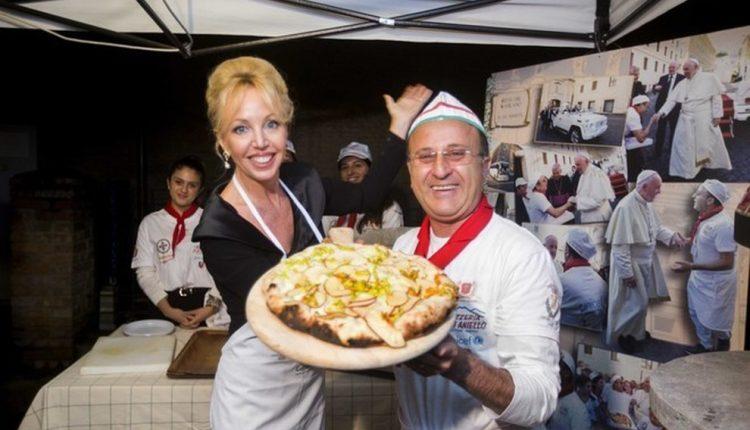 Ecco Camilla, la pizza dei re di Borbone