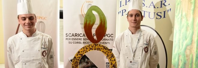 L'istituto d'istruzione superiore Adriano Tilgher di Ercolano vince ai campionati nazionali di pasticceria