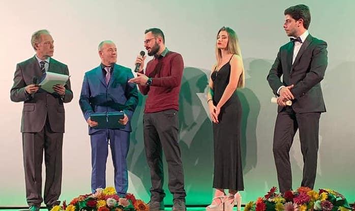 """L'attore e regista sangiorgese Pasquale Cangiano fa manbassa di premi al Corto Dino Film Festival"""" dedicato a Dino De Laurentiis"""